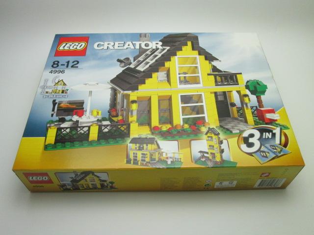 LEGOの買取紹介:LEGO 4996 クリエイターコテージ