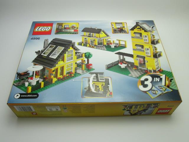 LEGO買取紹介:LEGO 4996 クリエイターコテージ パッケージ裏