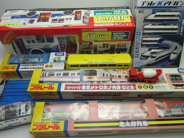 鉄道模型買取紹介:プラレール 鬼太郎列車などの鉄道模型・ミニカーを買取させて頂きました。