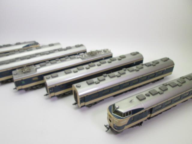 鉄道模型買取:KTM 581系 HOゲージ 7両セットをお売り頂きました。