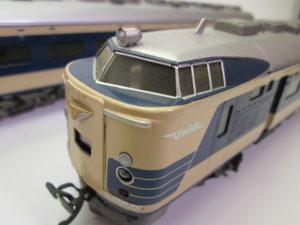 KTM(カツミ)の鉄道模型、581系 HOゲージ 7両セットをお売り頂きました。