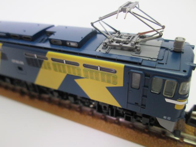 買取紹介:TOMIX 9199 JR EF65 0型電気機関車(116号機JR貨物試験色)パンタグラフ