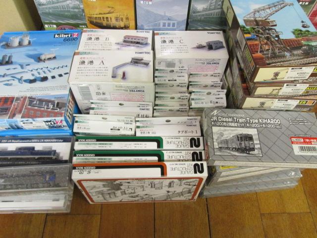 Nゲージやジオコレ、ストラクチャーなどの鉄道模型を買取させて頂きました。
