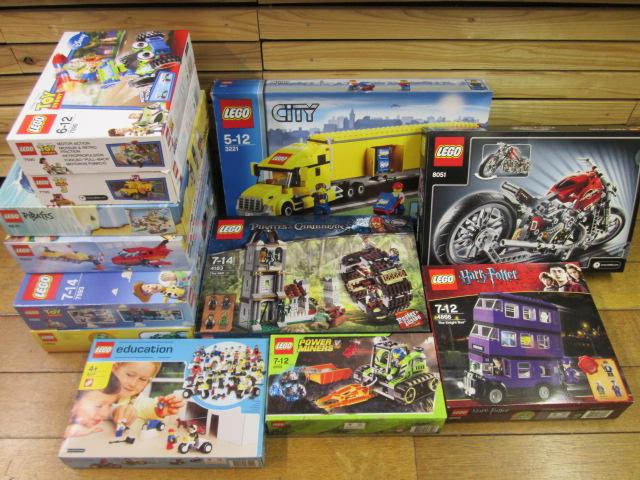 レゴ買取紹介:シティのトレイントラック3221、レゴコミュニティワーカーズ9247など様々なレゴ