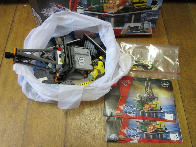 買取紹介:組み立て済みのカーズレゴ