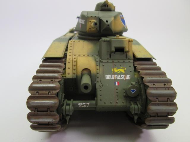 買取紹介:フランス戦車 b1bisプラモデル完成品