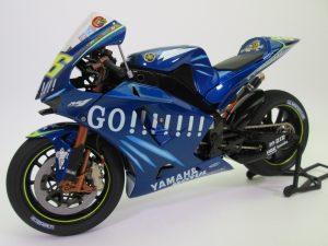 タミヤ 1/12 ヤマハ YZR-M1 '04 No.46 バイクプラモデル完成品を買取頂きました。
