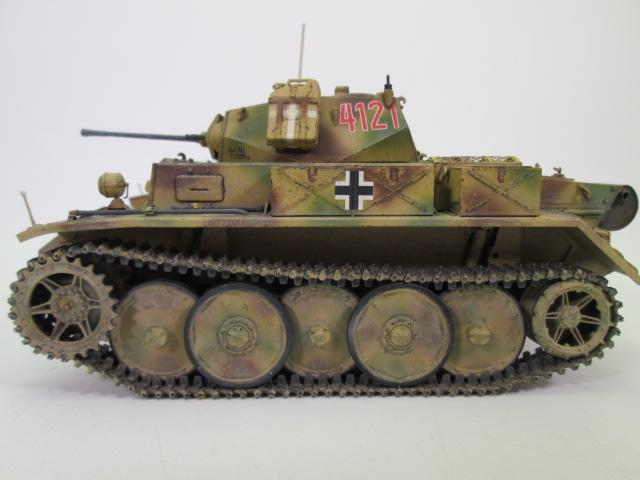 買い取り紹介:ドイツⅡ号戦車L型ルクス塗装済み側面