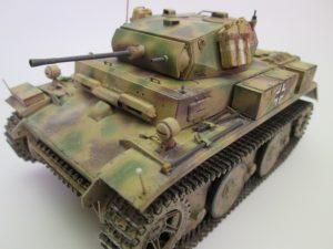 ドイツⅡ号戦車 L型ルクス プラモデル完成品を買取させて頂きました。