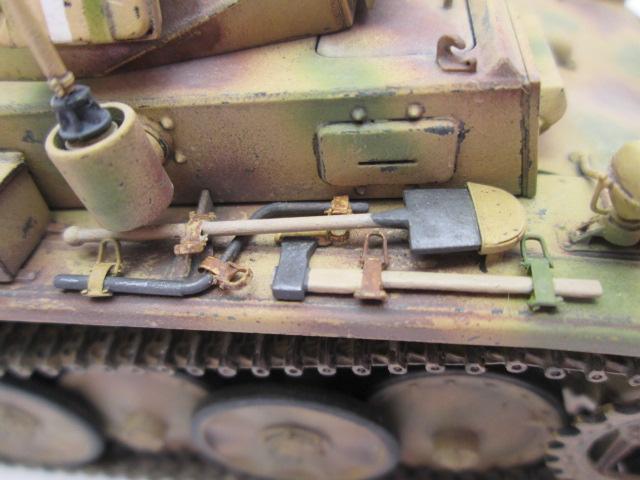 ドイツⅡ号戦車L型ルクス塗装済み 車体OVM