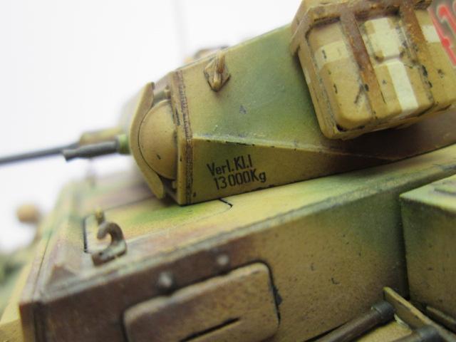 買取紹介:ドイツⅡ号戦車L型ルクス 塗装済完成品の砲塔アップ