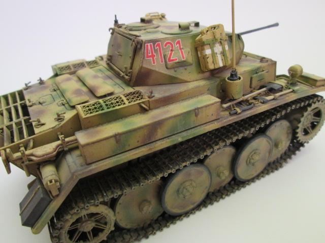 ドイツⅡ号戦車L型ルクス塗装済み