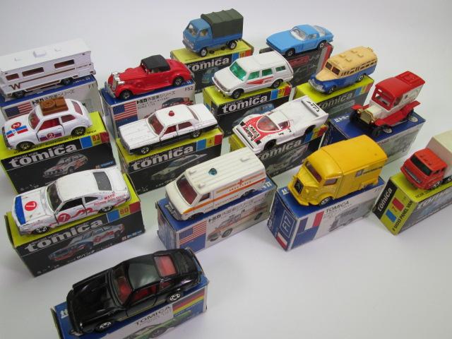トミカ黒箱・青箱など貴重なミニカーを買取させて頂きました。