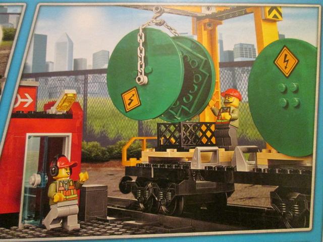 レゴシティ60052カーゴトレイン 貨物の写真