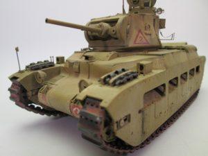 マチルダⅡ歩兵戦車 プラモデル完成品を買取させて頂きました。