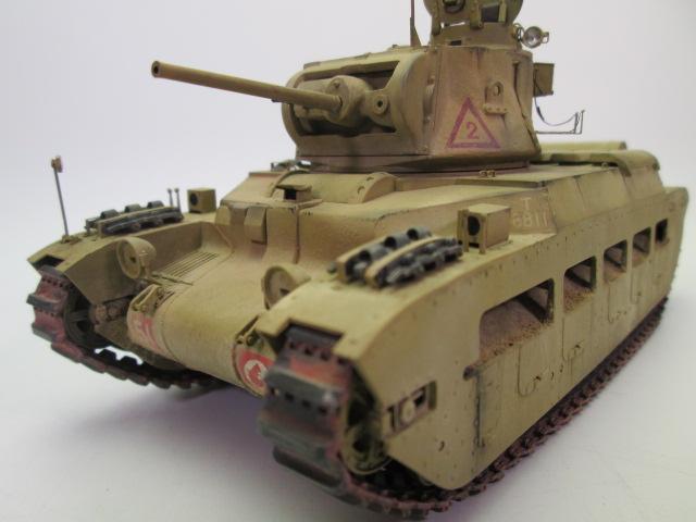マチルダⅡ歩兵戦車 正面