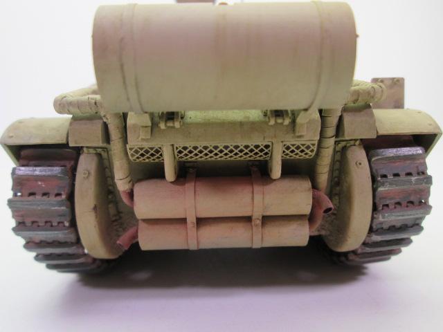 マチルダⅡ歩兵戦車 後部