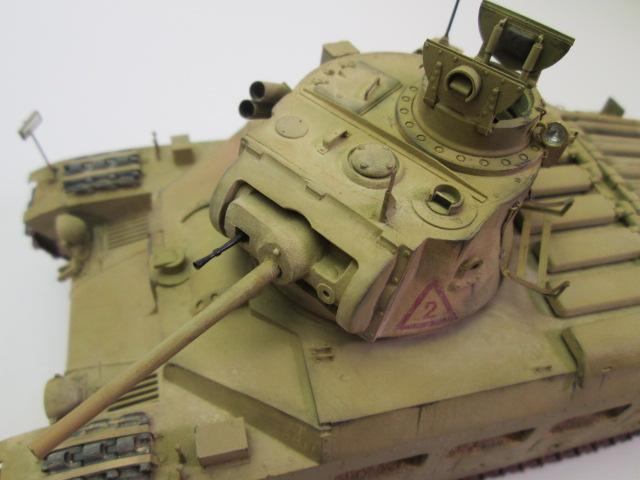 マチルダⅡ歩兵戦車 砲塔上部