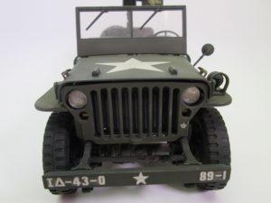 アメリカ軍 ジープ ウィリス プラモデル完成品を買取させて頂きました!