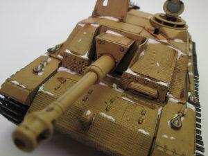 ドイツ Ⅲ号突撃榴弾砲 プラモデル完成品を買取させて頂きました。