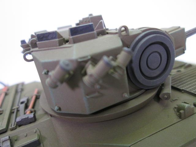 買取紹介:1/35 YPR-765  塗装済完成品の砲塔