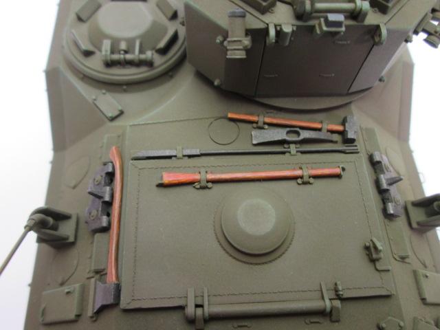 塗装済1/35 YPR-765 装甲歩兵戦闘車 上部
