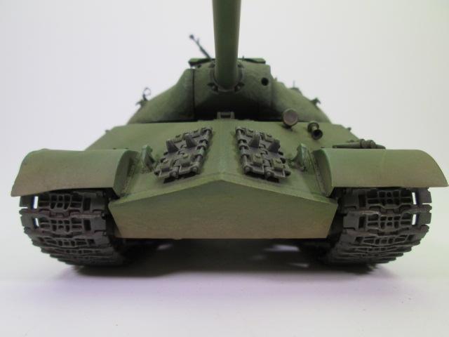 ソビエト重戦車JS-3 スターリン3型プラモデル完成品を買取させて頂きました。
