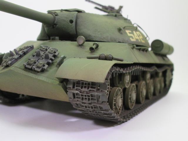 ソビエト重戦車JS-3 スターリン3型 塗装面