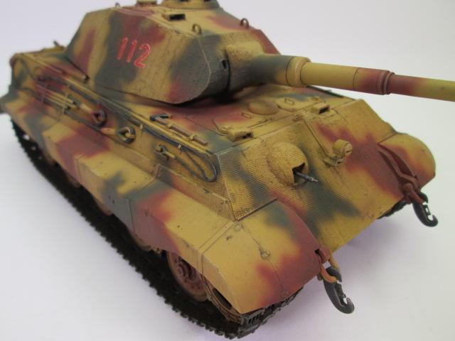 Ⅵ号戦車Ⅱ型 キングタイガーの作品紹介