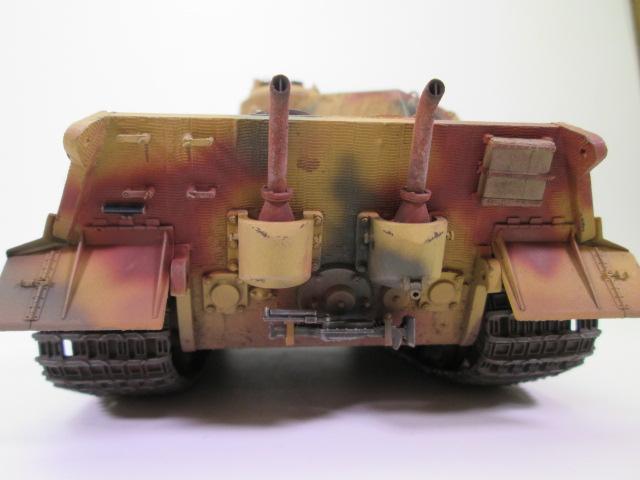 Ⅵ号戦車Ⅱ型 キングタイガーの作品紹介 後部