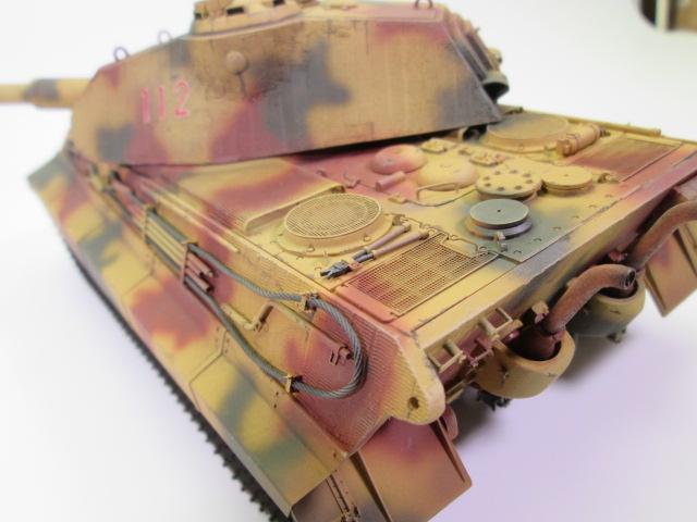 Ⅵ号戦車Ⅱ型 キングタイガー後部