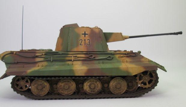 E-75対空戦車クロコダイル 側面