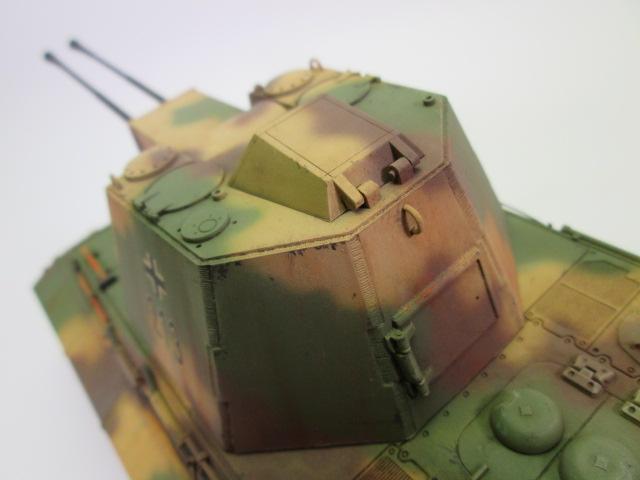 買取紹介、E-75対空戦車の砲塔