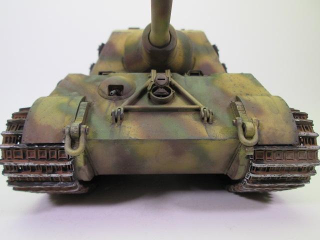 駆逐戦車ヤークトティーガー プラモデル完成品 砲塔