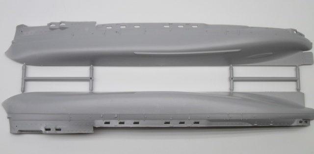 EASTERN EXPRESS 1/350 クニャージ・スヴォーロフ 船体