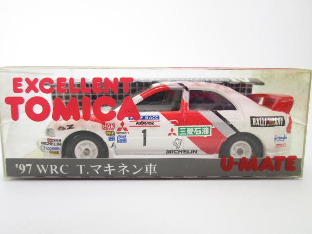 エクセレントトミカ '97WRC T.マキネン車のクリアケース