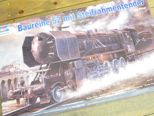 トランペッター 1/35 ドイツ軍用蒸気機関車 BR52
