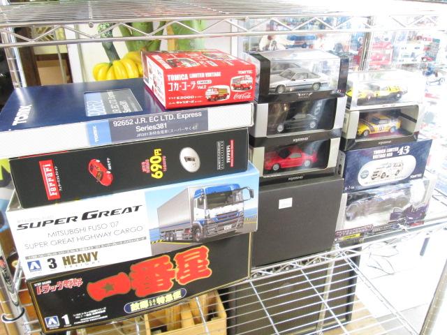 店頭にてMONDSEEマツダ5や京商のミニカーを買取させて頂きました。