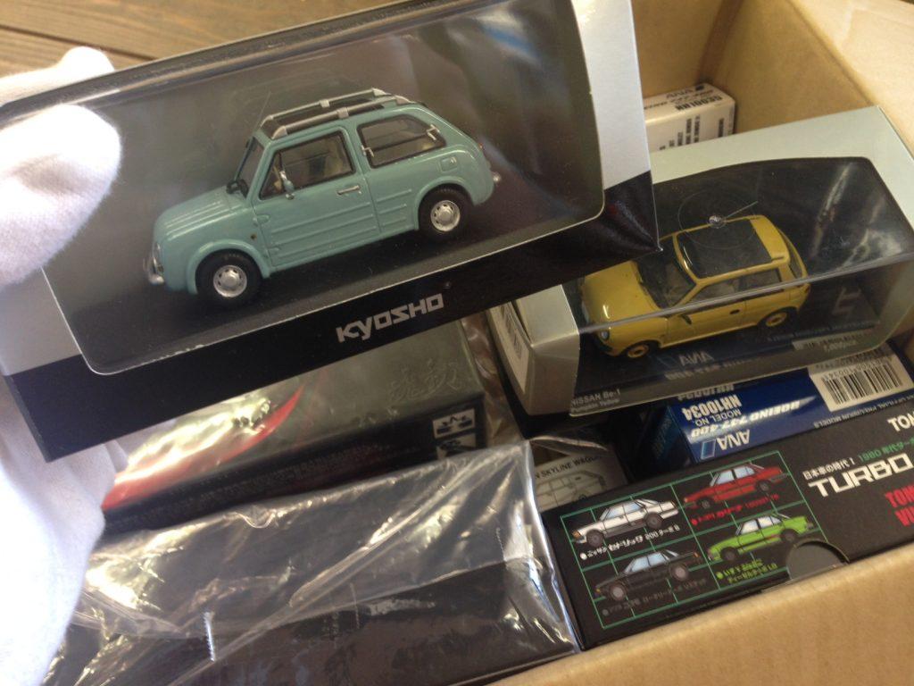 京商、マツダ特典車など希少なミニカーを20点以上買取させて頂きました!