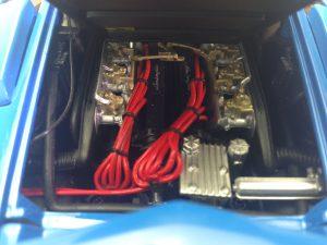 京商 1/18 ランボルギーニ LP500Sエンジン