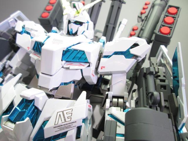 買取紹介:MG ユニコーンガンダム塗装済み完成品のディテール