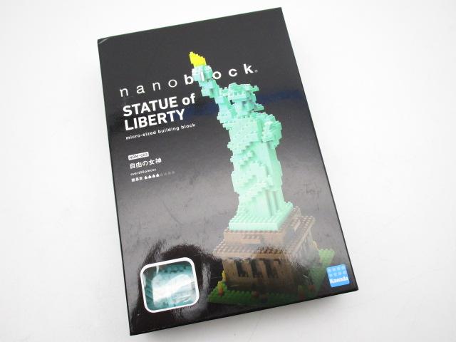 ナノブロック 自由の女神