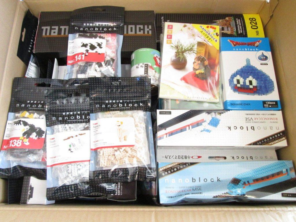 愛知県のお客様よりナノブロックとレゴを買取させて頂きました。