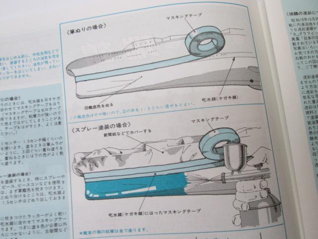 買取紹介:ニチモ 1/500 日本海軍航空母艦 瑞鶴の塗装説明書3