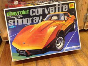 絶版車プラモデル(オオタキコルベット、タミヤサンダーボルト)を買取させて頂きました。