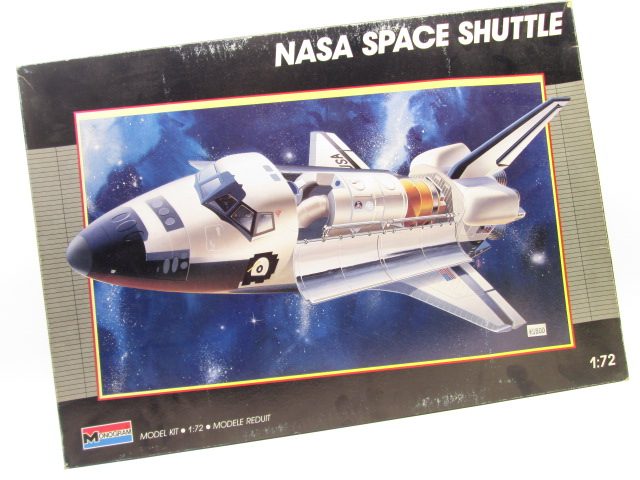モノグラム 1/72 NASA SPACE SHUTTLE