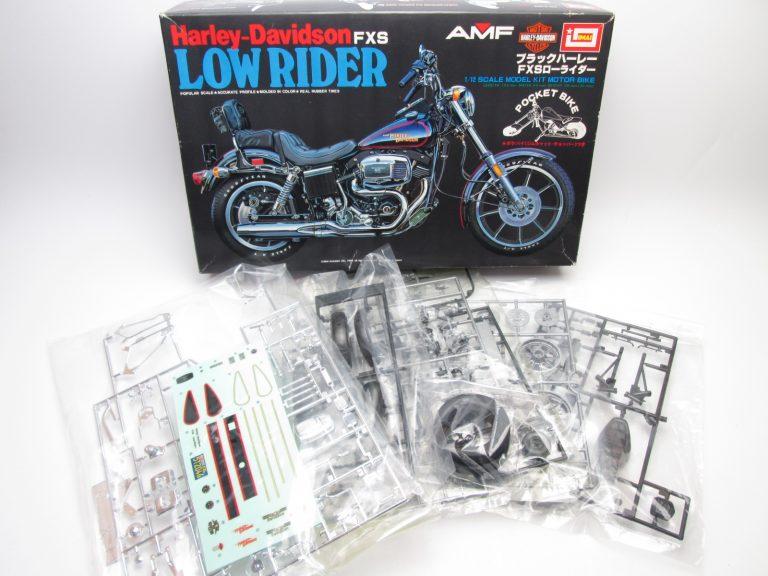 イマイハーレーやタミヤホンダダックスなど、希少なバイクプラモデルをお売り頂きました。