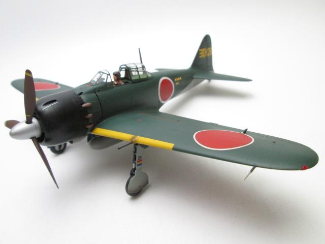 買取紹介:タミヤマスターワーク1/48ゼロ戦 52型甲 ヨD-126号