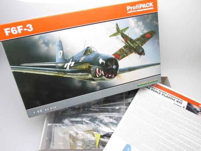 買取紹介:エデュアルド1/48 F6F-3ヘルキャット