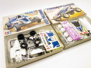 サンダードラゴン、シューティングスターなど当時のミニ四駆を買取頂きました!